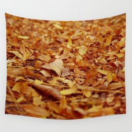 The Autumn leaves Wall Tapestry