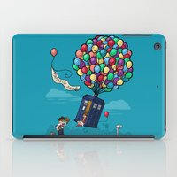 hallion iPad Cases featuring Come Along, Carl by Karen Hallion Illustrations