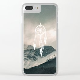 Dreamcatch you Clear iPhone Case
