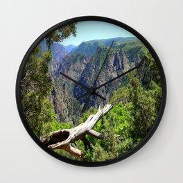 Black Canyon Of Gunnison View Wall Clock