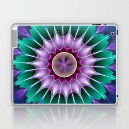 Starry kaleidscope flower Laptop & iPad Skin