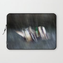 Duck Fight Digital Abstract Laptop Sleeve