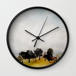 Group of Trees Wall Clock