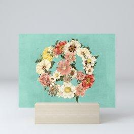 Botanica Peace sign Mini Art Print