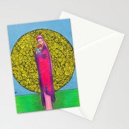 Virgin Mary Holding Jesus Stationery Cards