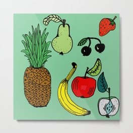 Fruits Metal Print