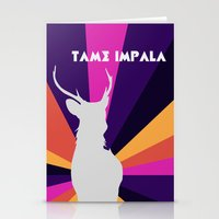 lsd Stationery Cards featuring Tame Lsd by OEVB