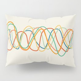 Colorful Heart Rate Pillow Sham