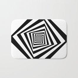 -5º / 85% downscale Rotating square Bath Mat