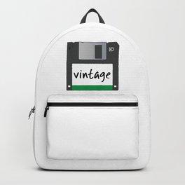 Vintage Floppy Disk Backpack