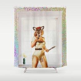 Deer Me! Shower Curtain