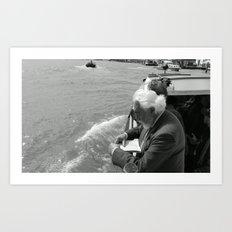 Street Photography a la Venice  Art Print