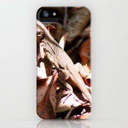 Forest Lizard iPhone Case