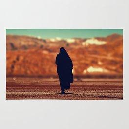 Moroccan lady silhouette #society6 #decor #buyart Rug