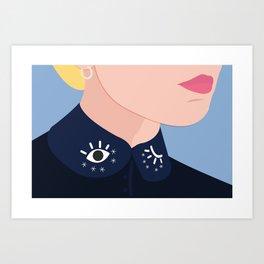 CLAUDINE Art Print