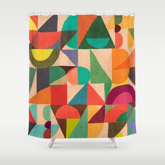 Color Field Shower Curtain