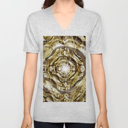In Hadron Collider. Unisex V-Neck
