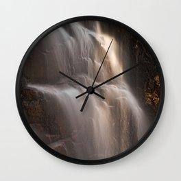 Hadlock Sunbeam Falls Wall Clock