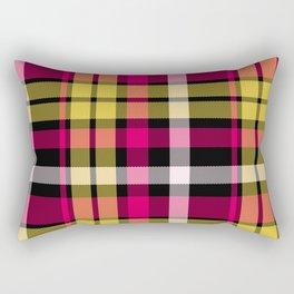Tartan Pattern Rectangular Pillow