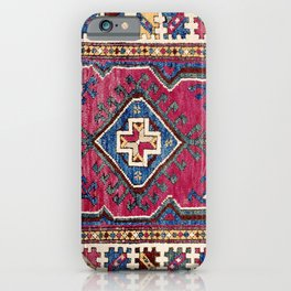 Karakecili Kütahya  Antique Turkish Tribal Carpet Print iPhone Case