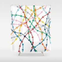 Trapped New Shower Curtain