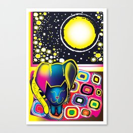 Merlin Moon-Beamish Canvas Print