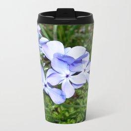 Blue Phlox 07 Metal Travel Mug