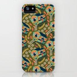 Gypsy Wagon Pattern iPhone Case
