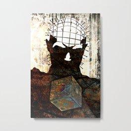 021 Hell Metal Print