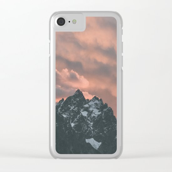 Yellowstone National Park Clear iPhone Case