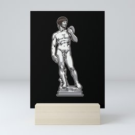 Rugby David by Michelangelo Mini Art Print