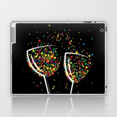 Happy colorful drink Laptop & iPad Skin