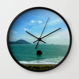 Battle Rock Wall Clock