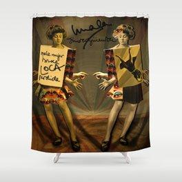 """""""Mala mujer"""" Shower Curtain"""