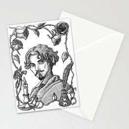 Gustavo Adolfo Bécquer  V. B&W Stationery Cards