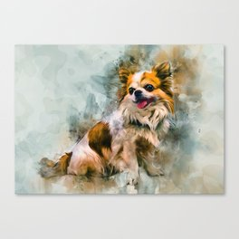 Chihuahua Art Canvas Print