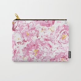 Botanical Impressions: CAMELLIA Carry-All Pouch