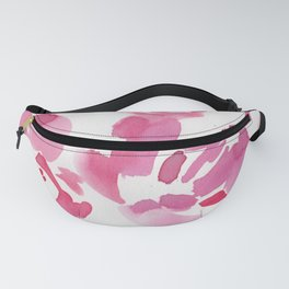 5  |  190411 Flower Abstract Watercolour Painting Fanny Pack