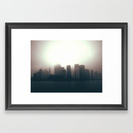The Sun Also Rises in the Peoples' Republic Framed Art Print