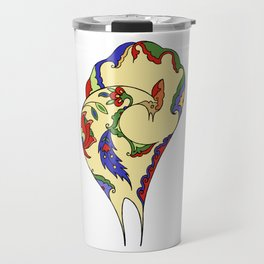 Bird and flowers Travel Mug