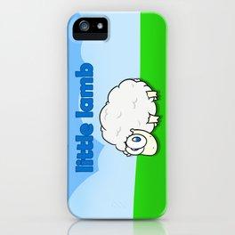Little lamb iPhone Case