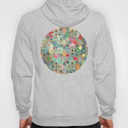 Gilt & Glory - Colorful Moroccan Mosaic Hoodie