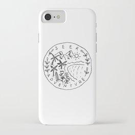 Seek Adventure iPhone Case