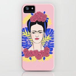 Tribute to Frida #1 iPhone Case