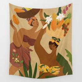 Opps! I drop my Papaya Wall Tapestry
