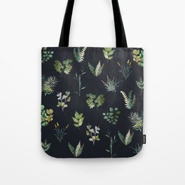Green Nature Pattern Tote Bag