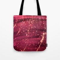 splatter Tote Bags featuring Splatter by TA TAN
