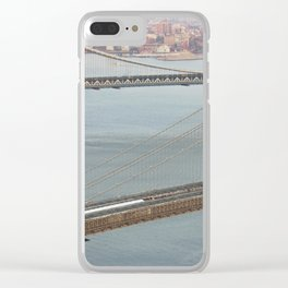 Life In My Big Bad Apple (Pt 20) Clear iPhone Case