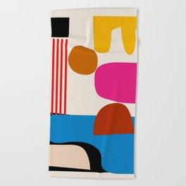 Shapes 03 Beach Towel