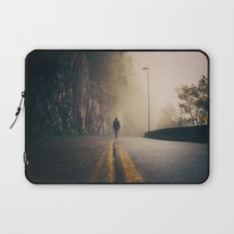 Walking Among Whispers Laptop Sleeve